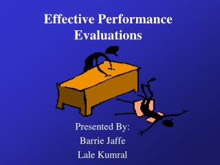 Effective Performance Evaluations