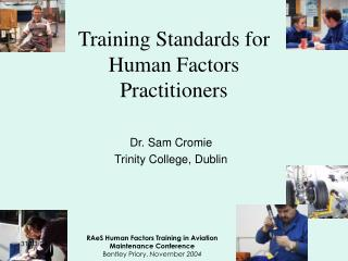 Training Standards for Human Factors Practitioners