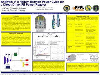 Analysis of a Helium Brayton Power Cycle for a Direct-Drive IFE Power Reactor