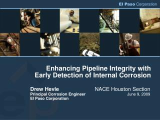 Enhancing Pipeline Integrity with Early Detection of Internal Corrosion