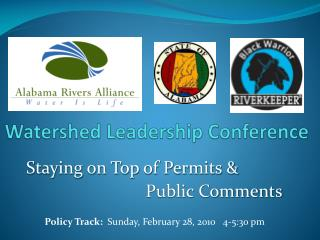 Watershed Leadership Conference