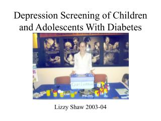 Depression Screening of Children and Adolescents With Diabetes