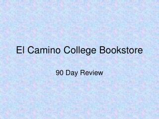 El Camino College Bookstore