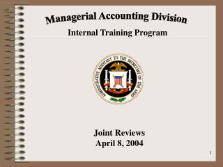 Managerial Accounting Division