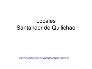 Local Santander de Quilichao