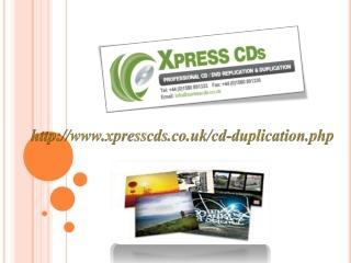 Cd duplication company