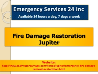 Fire Damage Restoration Jupiter