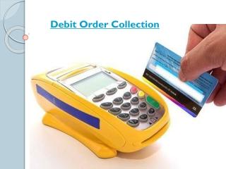 Debit Order Collection