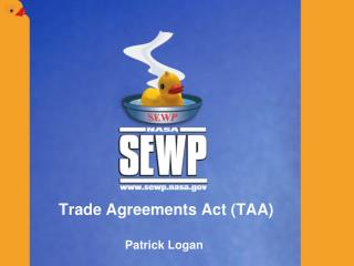 Trade Agreements Act (TAA)