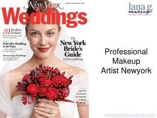 Professional Makeup Artist Newyork
