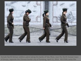 On the banks of North Korea