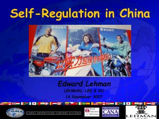 Self-Regulation in China