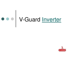 V-Guard Inverter
