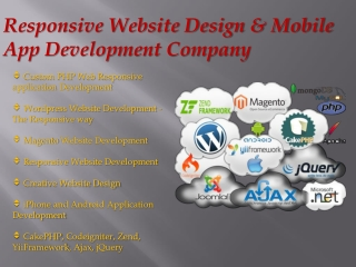 Web Developing and Mobile Application Development Company