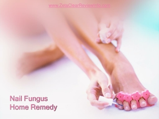 Nail fungus home remedy