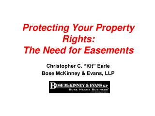 Protecting Your Property Rights: The Need for Easements