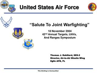 """Salute To Joint Warfighting"""
