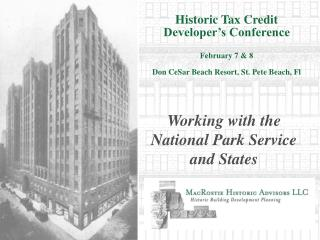 historic tax credit