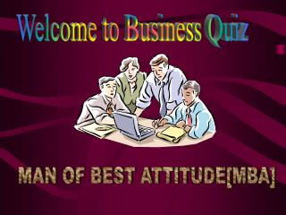 Welcome to Business Quiz
