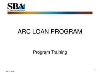 ARC LOAN PROGRAM