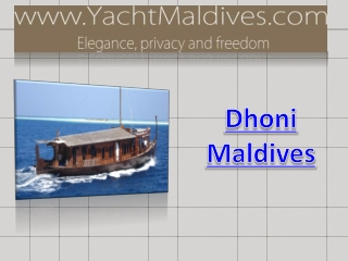 Dhoni Maldives