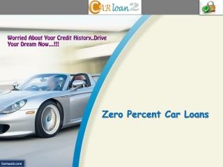 Zero Percent Car Loans