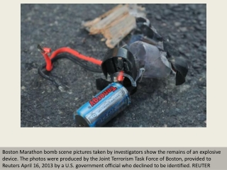 Boston bomb revealed