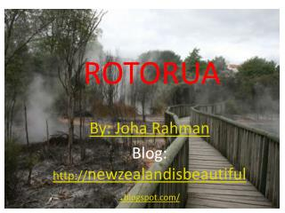 Beautiful New Zealand Rotorua