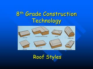 8 th  Grade Construction Technology