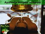 Ayurveda Hospital in Kerala