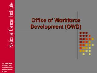 Office of Workforce Development OWD