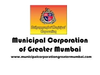 Municipal Corporation of Greater Mumbai Complaint Registrati