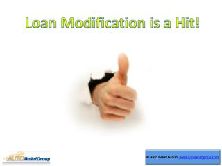 Loan Modification is a Hit!