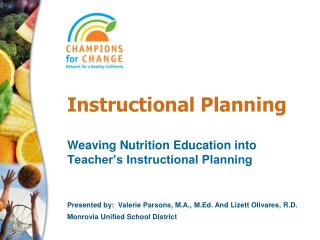Instructional Planning