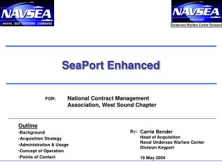 SeaPort Enhanced