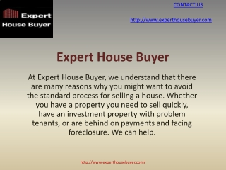 Expert House Buyer