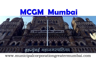 Municipal Corporation of Greater Mumbai Property Tax
