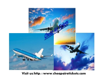 Cheap Air E Tickets Best Travel Deals Online