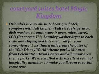 courtyard suites hotel Magic Kingdom