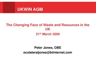 UKWIN AGM