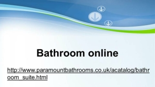 Bathroom online