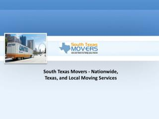 South Texas Movers - Corpus Christi Local