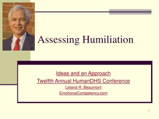 Assessing Humiliation