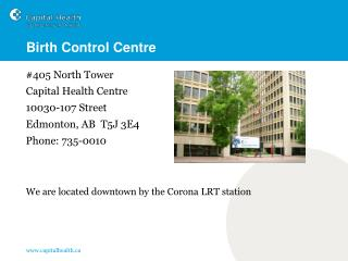 Birth Control Centre