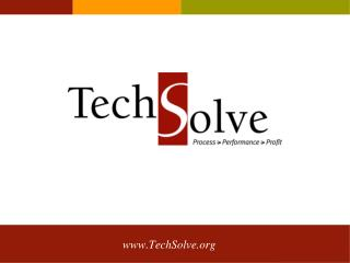About TechSolve