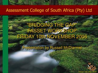 Assessment College of South Africa Pty Ltd