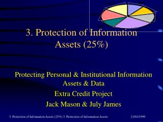 3. Protection of Information Assets (25\%)