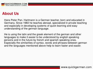 Quick German - German Language Learning Lessons