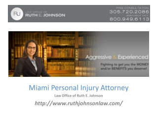 Auto Accident Attorneys Miami