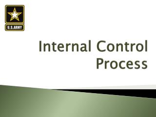 Internal Control Process